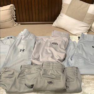 Little boys baseball pants.